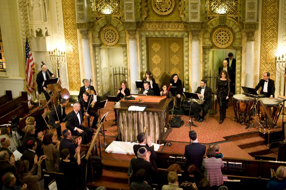 Spring concert Park Avenue Synagoue, 2012