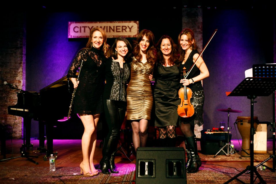 With the Sheba Ensemble, City Winery, NY, 2013